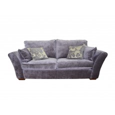 Heron 4 Seater Standard Back Sofa Fabric A