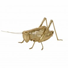 Mindy Brownes Grasshopper Sculpture Gold