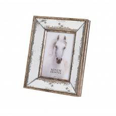 "Mindy Brownes Alia Photo Frame (5"" x 7"") Antique Gold"