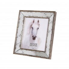 "Mindy Brownes Alia Photo Frame (8"" x 10"") Antique Gold"