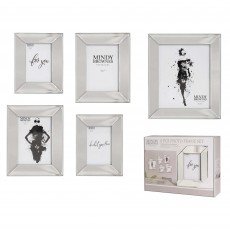 Mindy Brownes Abaa Frames Silver (Set of 5)