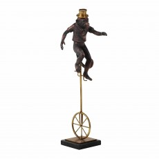 Mindy Brownes Circus Monkey 1 Bronze & Black