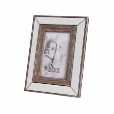 "Mindy Brownes Amelia Photo Frame (4"" x 6"") Distressed Woods"