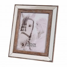 "Mindy Brownes Amelia Photo Frame (8"" x 10"") Distressed Wood"