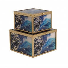 Mindy Brownes Accessory Box Marine Wonder (Set of 2)