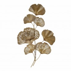 Mindy Brownes Leaf Wall Art Gold