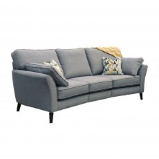 Capilano 4 Seater Curved Sofa All Fabrics