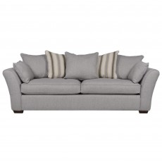 Heron 4+ Seater Scatter Back Sofa Fabric A
