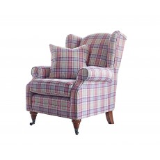 Heather Wing Chair Fabric C