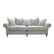 Cabana 4 Seater Scatter Back Sofa Fabric B
