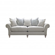 Cabana 3 Seater Scatter Back Sofa Fabric B