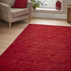 Hong Kong Plain 8583 Rug 150x230cm Red