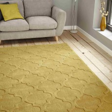 Hong Kong Plain 8583 Rug 150x230cm Yellow
