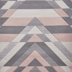 Pembroke G2075 Rug Grey & Rose