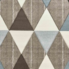Brooklyn 21896 Rug Beige & Blue