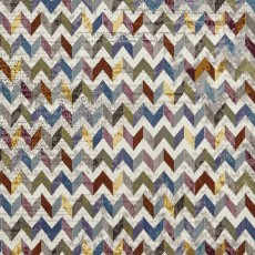 16th Avenue Zigzag 36A Rug Multi Coloured