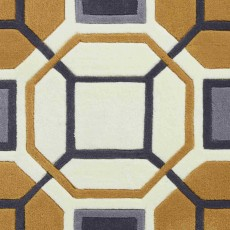 Hong Kong 9238 Rug Ivory & Yellow