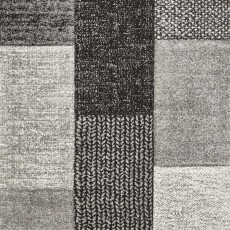 Brooklyn 21830 Rug Grey & Black