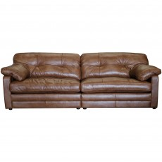 Alexander & James Savona 4 Seater Sofa Byron Leather