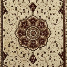 Heritage 4400 Rug Cream & Red