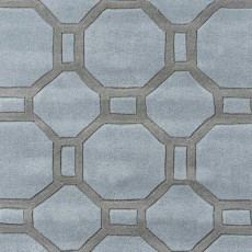 Hong Kong 4338 Rug Blue & Grey