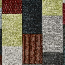 Brooklyn 21830 Rug Grey & Multi Coloured