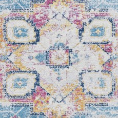 Boston G0532 Rug Blue & Fuschia
