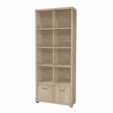 Dallas Tall Bookshelf Light Oak