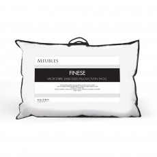 Meubles Finese Microfibre Embossed Pillow Pair