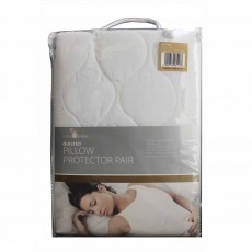 Bedroom Couture Quilted Pillow Protector Pair