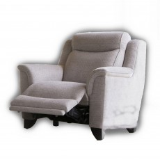 Parker Knoll Manhattan Rechargeable Electric Reclining Armchair Fabric B