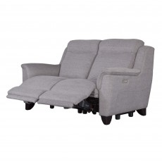 Parker Knoll Manhattan 2 Seater Rechargeable Electric Reclining Sofa Fabric B
