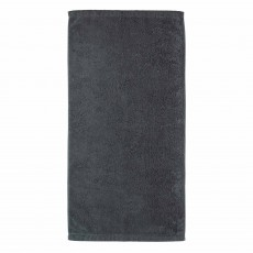 Cawo Lifestyle Plain Towel Anthracite