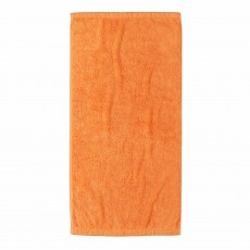 Cawo Lifestyle Plain Bath Sheet Mandarine
