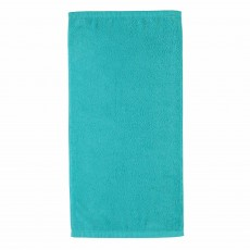 Cawo Lifestyle Plain Facecloth Turquoise