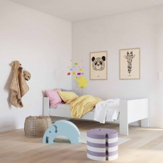 Steens for Kids Memphis Single (90cm) Bedstead White