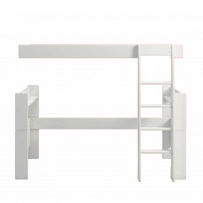 Steens for Kids Single Bed to High Sleeper Extension Kit White