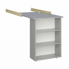 Steens for Kids Memphis Pull-Out Desk Grey