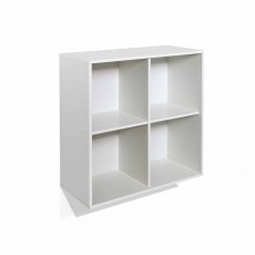 Steens Boxy Deep Bookcase White