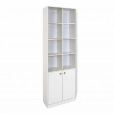 Steens Boxy Tall Bookcase White