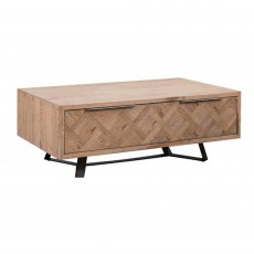 Dale 1 Drawer Coffee Table Grey Oak