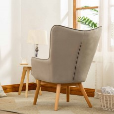 Mayla Armchair Fabric Grey