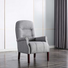 Cliften Armchair Fabric Light Grey