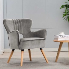 Brody Armchair Fabric Grey