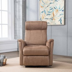 Maurice Manual Recliner Armchair Fabric Sand