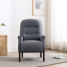 Cliften Armchair Fabric Denim Blue