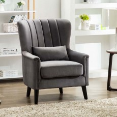 Maura Armchair Fabric Grey
