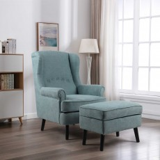 Geronimo Armchair Fabric Teal