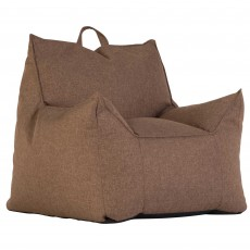 Lucci Bean Bag Fabric Brown