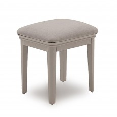 Acton Bedroom Stool With Fabric Seat Pad Taupe